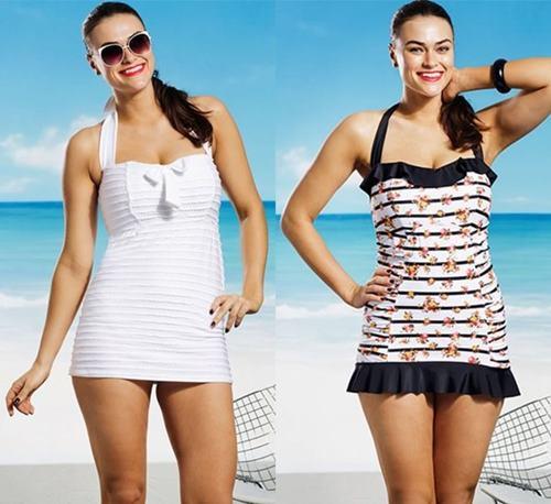 Chọn áo bơi cho người béo thêm tự tin đi biển - Ảnh 2