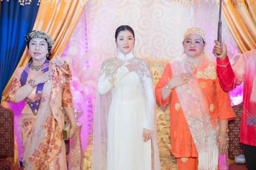 Lý Nhã Kỳ lộng lẫy trong lễ sắc phong công chúa châu Á bộ tộc Mindanao - Ảnh 2