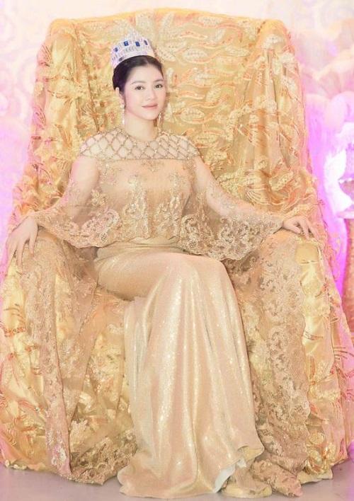 Lý Nhã Kỳ lộng lẫy trong lễ sắc phong công chúa châu Á bộ tộc Mindanao - Ảnh 3