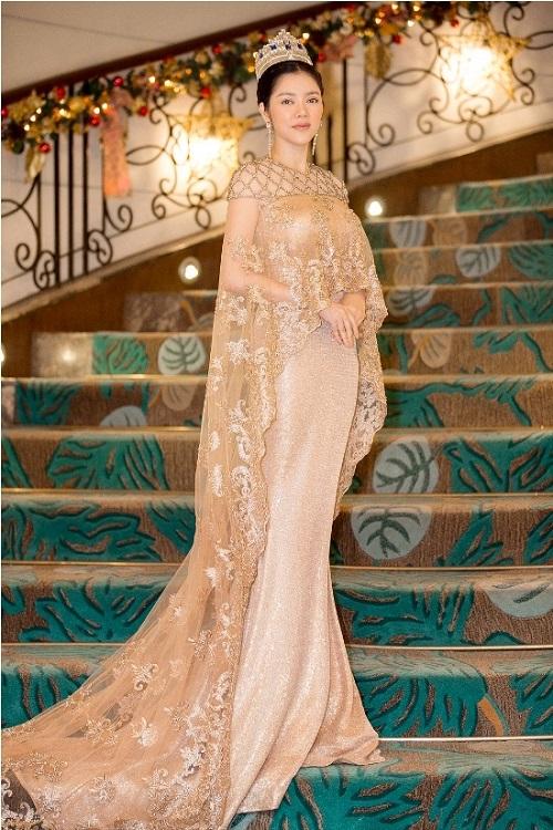 Lý Nhã Kỳ lộng lẫy trong lễ sắc phong công chúa châu Á bộ tộc Mindanao - Ảnh 8