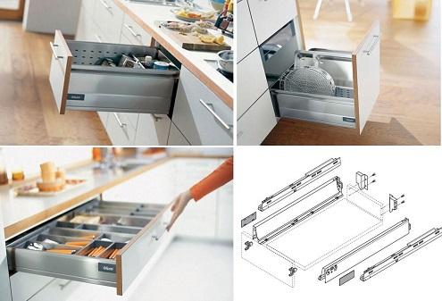 Kinh nghiệm chọn phụ kiện tủ bếp chất lượng, hiệu quả - Ảnh 2