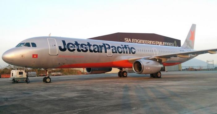 Máy bay Jetstar Pacific bị sét đánh - Ảnh 1