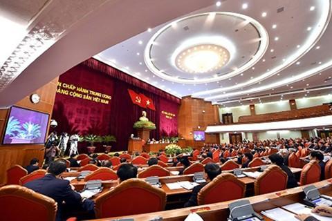 Bế mạc Hội nghị Trung ương 6 - Ảnh 1