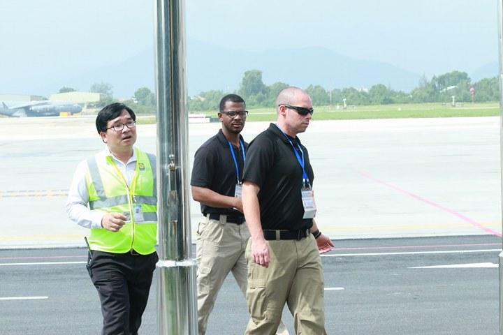 Tổng thống Mỹ Donald Trump đã đến Đà Nẵng - Ảnh 14