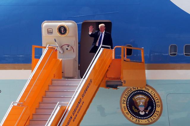 Tổng thống Mỹ Donald Trump đã đến Đà Nẵng - Ảnh 5