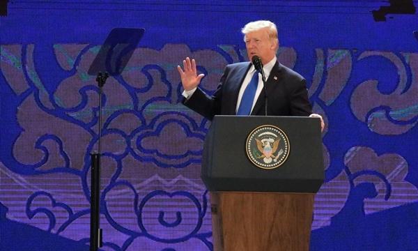 """Tổng thống Mỹ Donald Trump: """"Chúng ta là những người bạn"""" - Ảnh 1"""