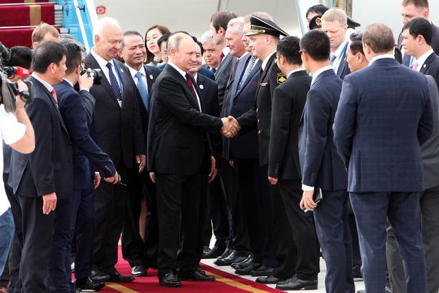 Hình ảnh đầu tiên của Tổng thống Putin tại Đà Nẵng - Ảnh 4