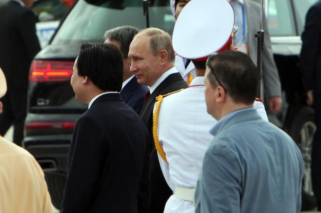 Hình ảnh đầu tiên của Tổng thống Putin tại Đà Nẵng - Ảnh 6