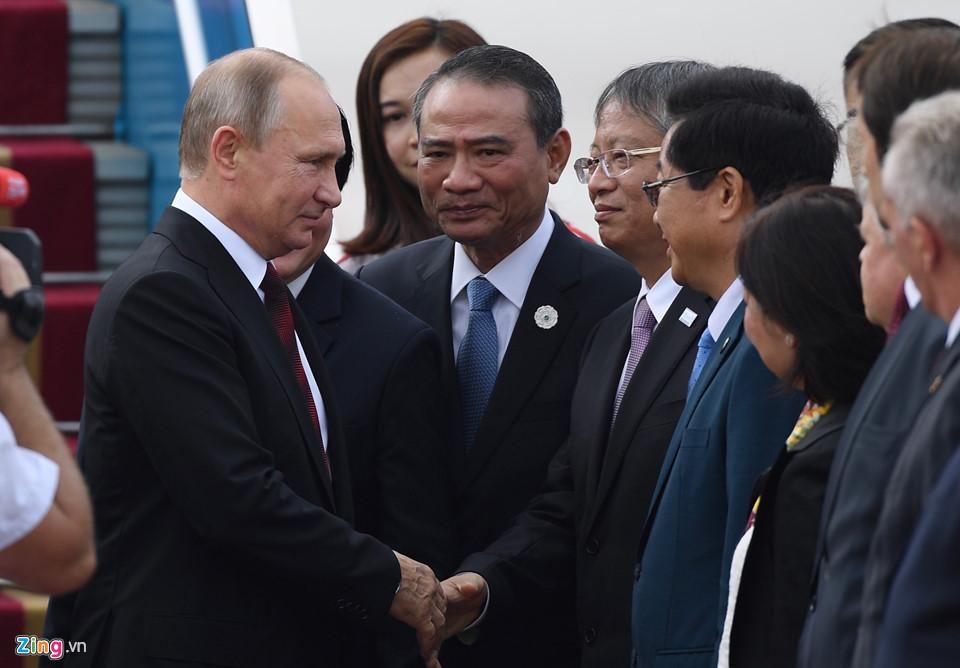 Hình ảnh đầu tiên của Tổng thống Putin tại Đà Nẵng - Ảnh 5