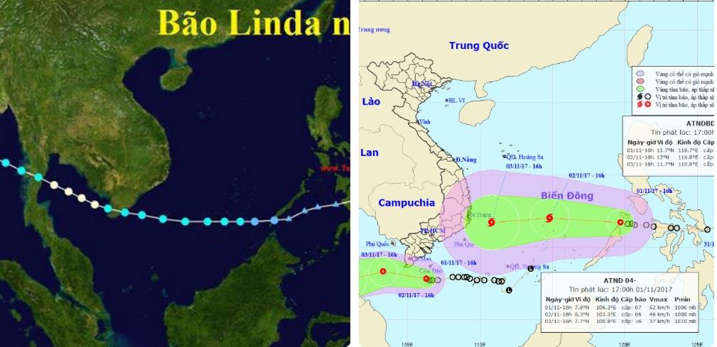 """Sự trùng hợp kỳ lạ giữa cơn bão số 12 và """"thảm họa"""" Linda - Ảnh 1"""