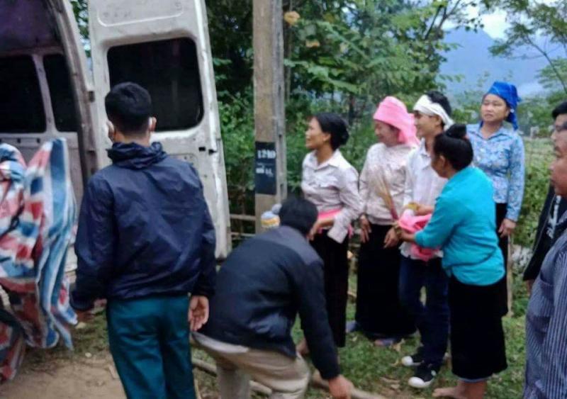 Vụ gia đình 4 người bị lũ cuốn ở Yên Bái: Tìm thấy thi thể người vợ mang thai - Ảnh 1