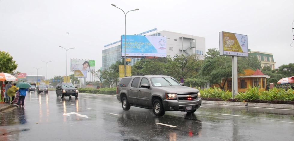 Cận cảnh dàn siêu xe của Tổng thống Trump ở Đà Nẵng - Ảnh 3