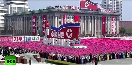 Cận cảnh buổi diễu binh lớn nhất lịch sử Triều Tiên - Ảnh 7
