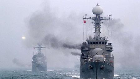 Trung Quốc đề nghị Mỹ- Hàn ngừng tập trận bắn đạn thật trên biển Hoàng Hải - Ảnh 1