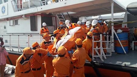 Vụ tàu Hải Thành 26 bị đâm chìm, 9 người chết: Trích xuất hộp đen tàu Petrolimex - Ảnh 2
