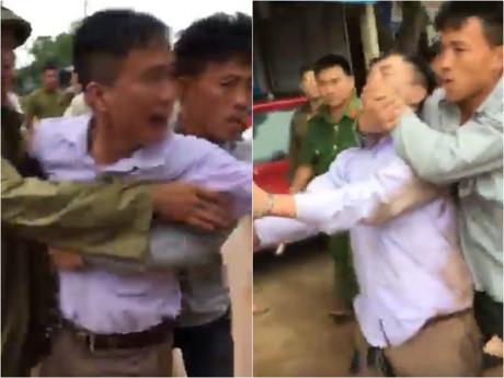 Giám đốc doanh nghiệp la hét, đánh CSGT sau khi gây tai nạn - Ảnh 1