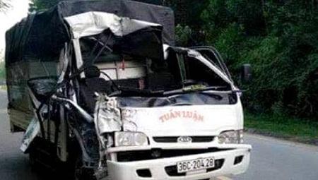 Tai nạn giao thông, một thượng úy công an tử vong - Ảnh 1