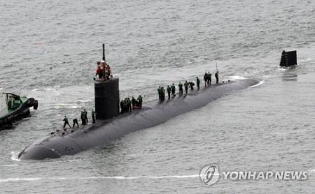 Mỹ điều tàu ngầm mang tên lửa Tomahawk tới bán đảo Triều Tiên - Ảnh 1