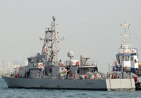 Tàu Mỹ bắn cảnh cáo tàu Iran ở Vịnh Ba Tư - Ảnh 1