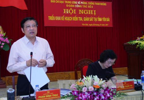 Kiểm tra, giám sát phòng, chống tham nhũng tại tỉnh Yên Bái - Ảnh 1