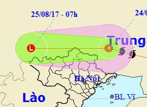 Bão số 6 suy yếu thành áp thấp nhiệt đới - Ảnh 1