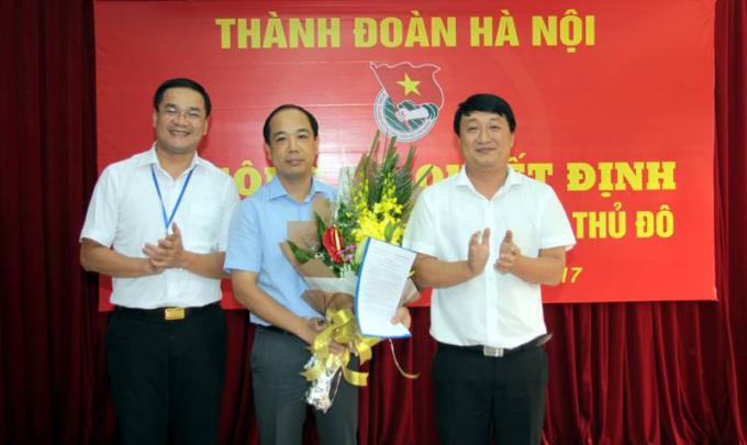 Ông Nguyễn Mạnh Hưng làm Tổng biên tập Báo Tuổi trẻ Thủ đô - Ảnh 1