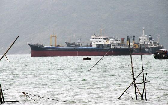 """Phát hiện """"vật thể lạ"""" nghi làm đắm tàu ở cảng Quy Nhơn - Ảnh 1"""