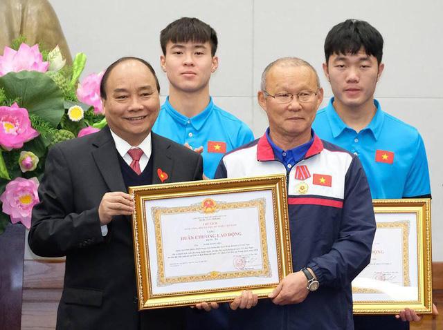 Thủ tướng trao tặng Huân chương cho đội tuyển U23 Việt Nam - Ảnh 3