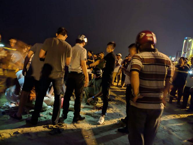 Du khách Trung Quốc tử vong khi tắm biển ban đêm ở Đà Nẵng - Ảnh 1