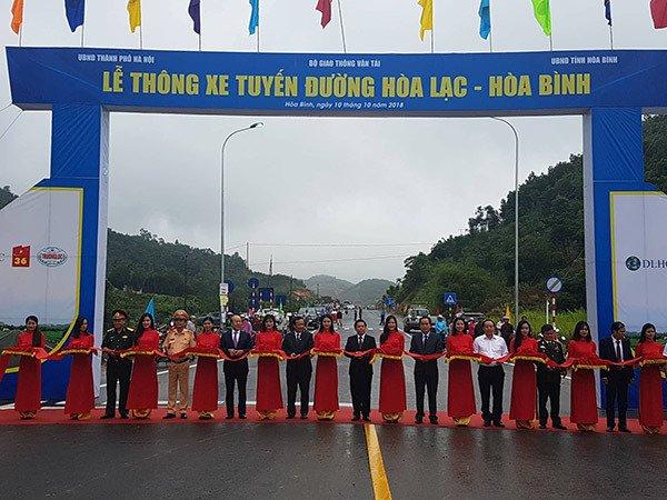 Thông xe hai dự án BOT cửa ngõ Thủ đô Hà Nội - Ảnh 1