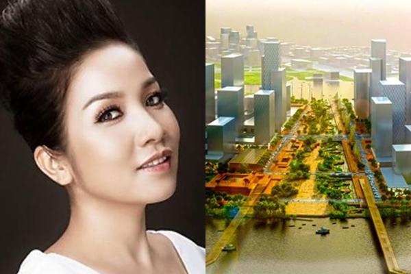 Ủng hộ dự án nhà hát 1.500 tỷ đồng, ca sĩ Mỹ Linh nói: 'Tôi không vô cảm với đồng bào Thủ Thiêm' - Ảnh 1