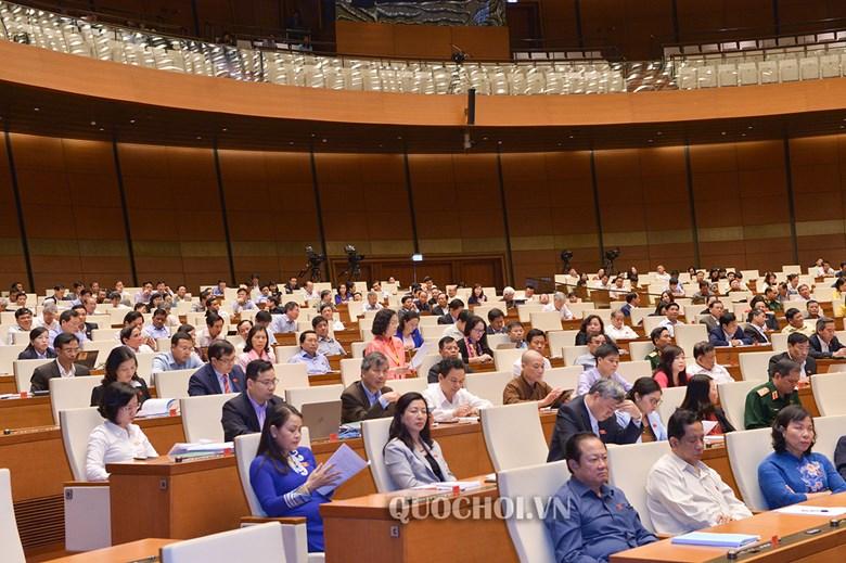 Bộ trưởng, trưởng ngành trả lời chất vấn, Thủ tướng báo cáo trước Quốc hội 45 phút - Ảnh 1