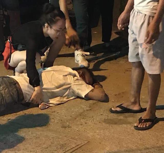 Nhân chứng kể lại giây phút tài xế taxi bị bắn, chèn xe qua người - Ảnh 1