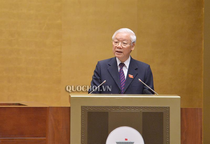 Chủ tịch nước Nguyễn Phú Trọng: Sớm phê chuẩn Hiệp định CPTPP giúp nâng cao vị thế Việt Nam trên trường quốc tế - Ảnh 1