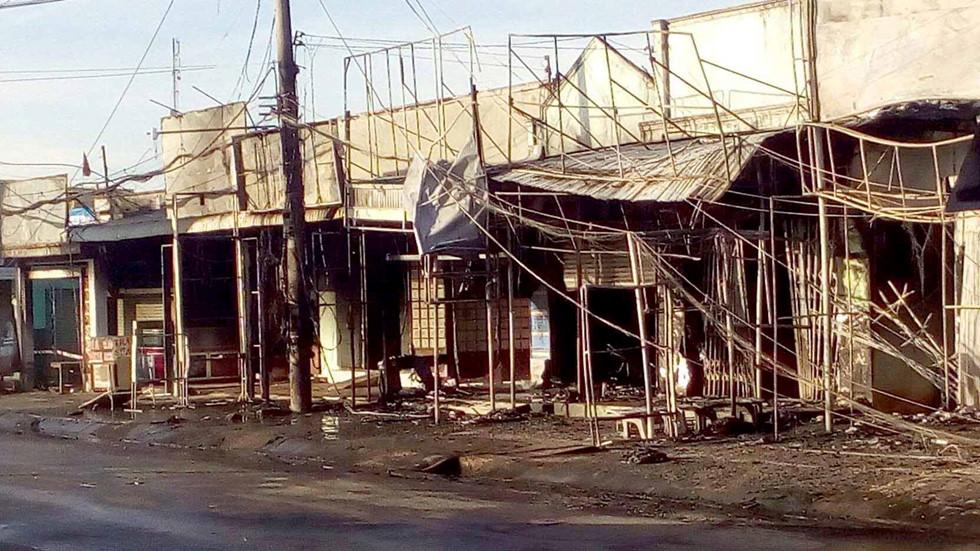 Vụ xe bồn bốc cháy làm 6 người chết ở Bình Phước: Ám ảnh vì thi thể bé trai khoảng 5 tuổi - Ảnh 2