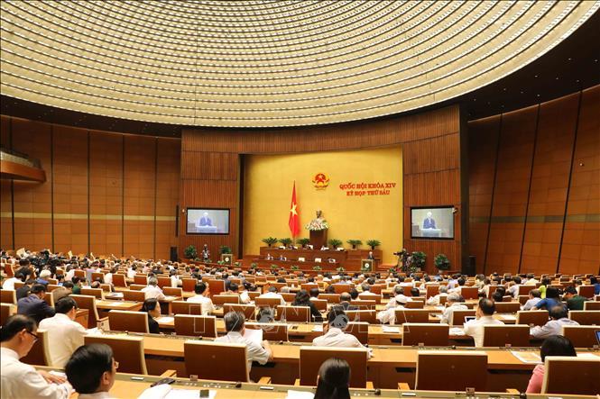Sáng 5/11: Quốc hội thảo luận tại hội trường việc phê chuẩn Hiệp định CPTPP - Ảnh 1