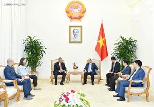 Thủ tướng tiếp lãnh đạo Tập đoàn đưa Giải đua F1 vào Việt Nam - Ảnh 2