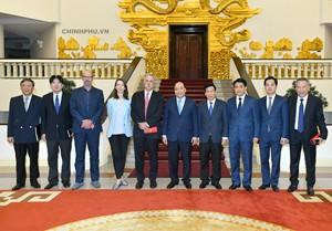 Thủ tướng tiếp lãnh đạo Tập đoàn đưa Giải đua F1 vào Việt Nam - Ảnh 3