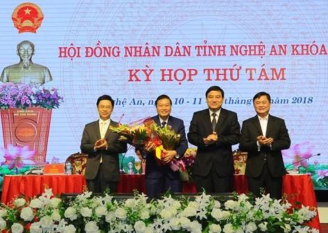 Nghệ An có tân Phó Chủ tịch UBND tỉnh - Ảnh 1