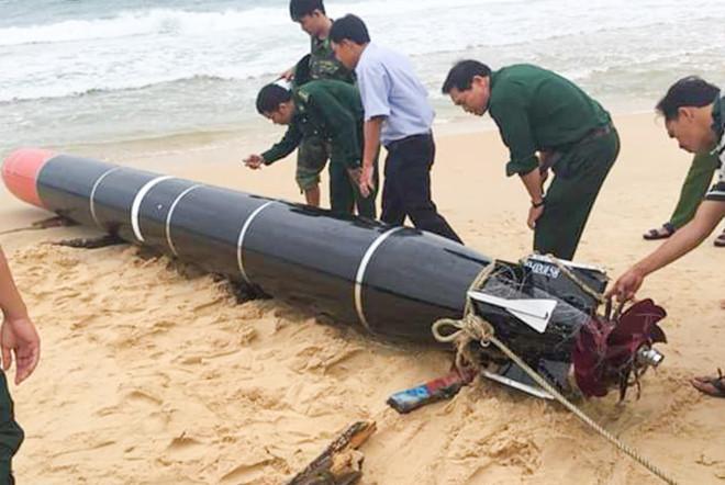 """Bộ Quốc phòng: """"Vật thể lạ"""" ở Phú Yên là ngư lôi phục vụ bắn tập của nước ngoài - Ảnh 1"""
