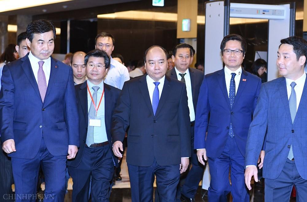 Thủ tướng dự Diễn đàn doanh nghiệp về xu thế chuyển dịch thương mại toàn cầu - Ảnh 1