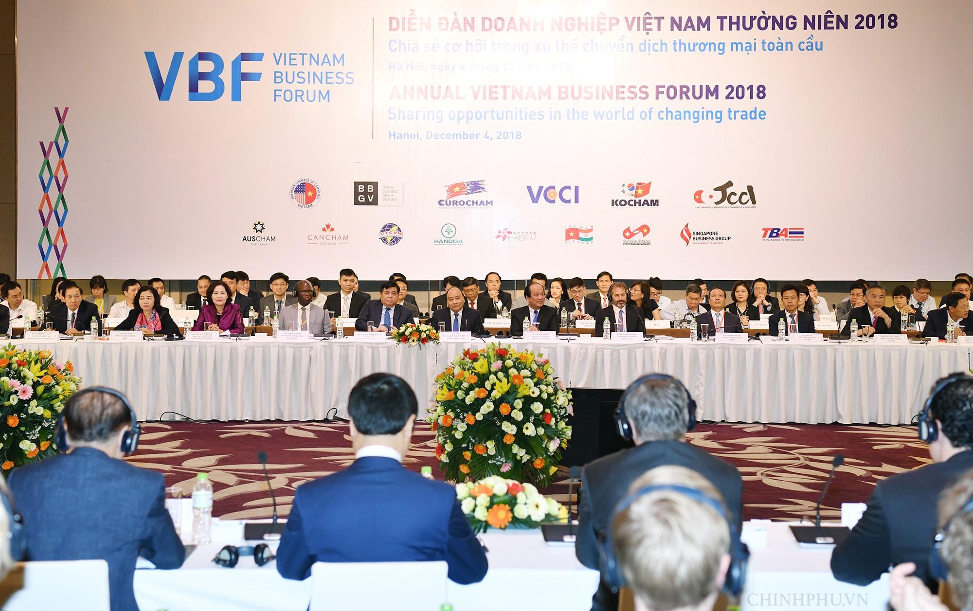 Thủ tướng dự Diễn đàn doanh nghiệp về xu thế chuyển dịch thương mại toàn cầu - Ảnh 2