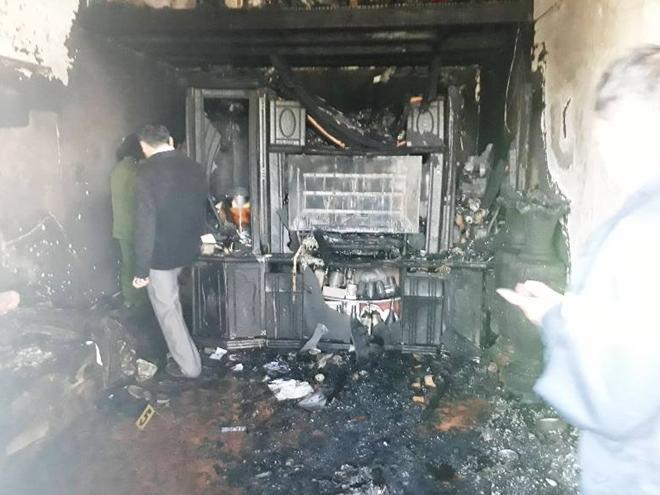 Ảnh khám nghiệm hiện trường vụ án mạng cháy biệt thự cổ, 5 người chết ở Đà Lạt - Ảnh 3
