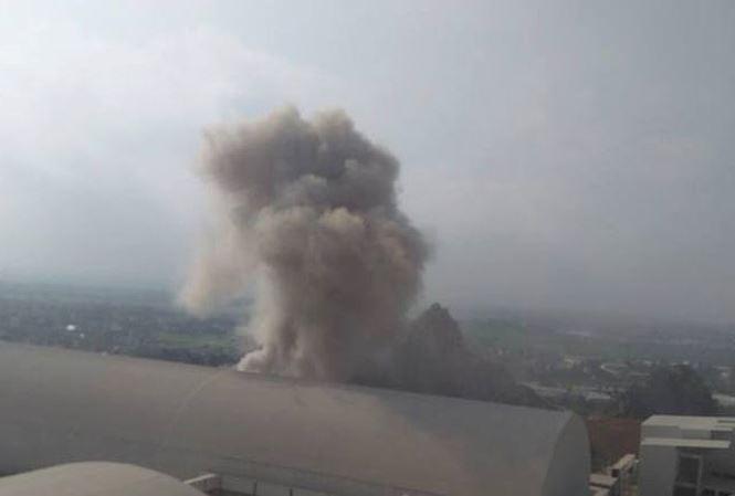 Nổ như bom tại nhà điều hành nhà máy xi măng Xuân Thành - Ảnh 1