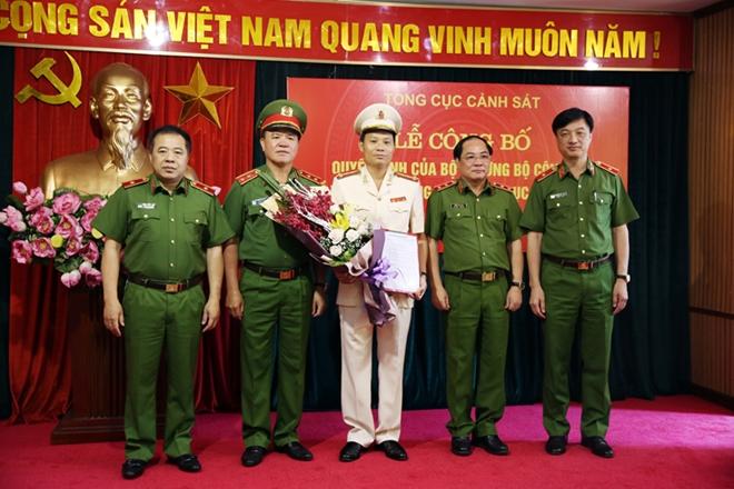 Trao quyết định bổ nhiệm Cục trưởng cục Cảnh sát hình sự - Ảnh 2