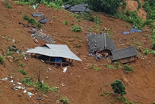 """Hiện trường 24 ngôi nhà bị lũ quét """"nuốt chửng"""" ở Lai Châu - Ảnh 1"""