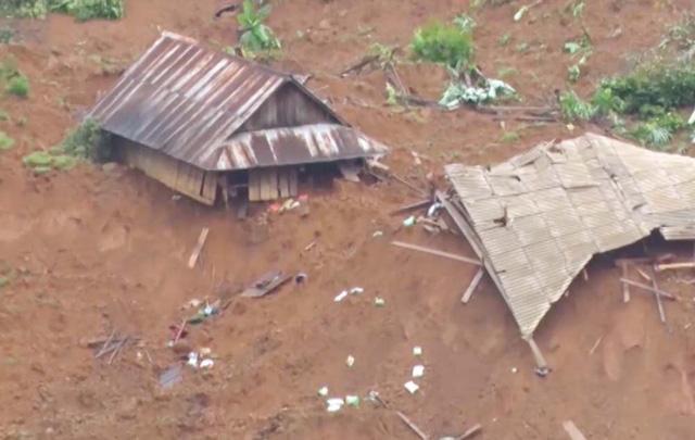 """Hiện trường 24 ngôi nhà bị lũ quét """"nuốt chửng"""" ở Lai Châu - Ảnh 2"""