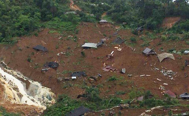 """Hiện trường 24 ngôi nhà bị lũ quét """"nuốt chửng"""" ở Lai Châu - Ảnh 4"""