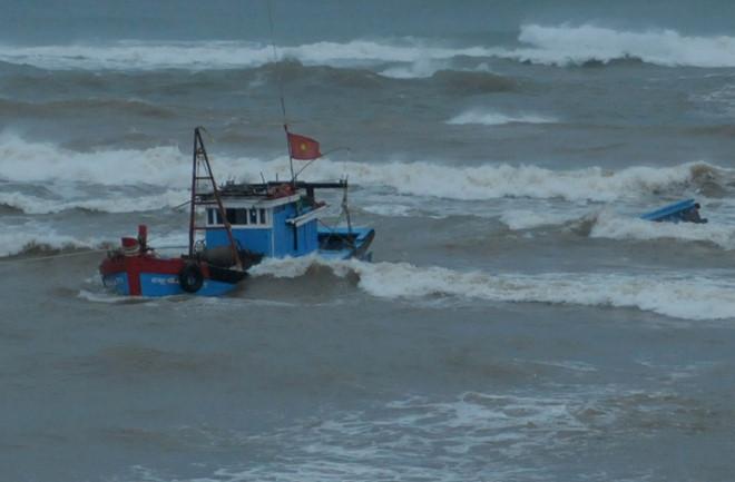 Tàu cá chìm, 31 ngư dân Quảng Ngãi trôi dạt ở Trường Sa - Ảnh 1