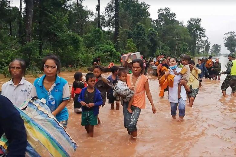 Khẩn trương hỗ trợ nước bạn Lào sau sự cố vỡ đập thủy điện - Ảnh 1